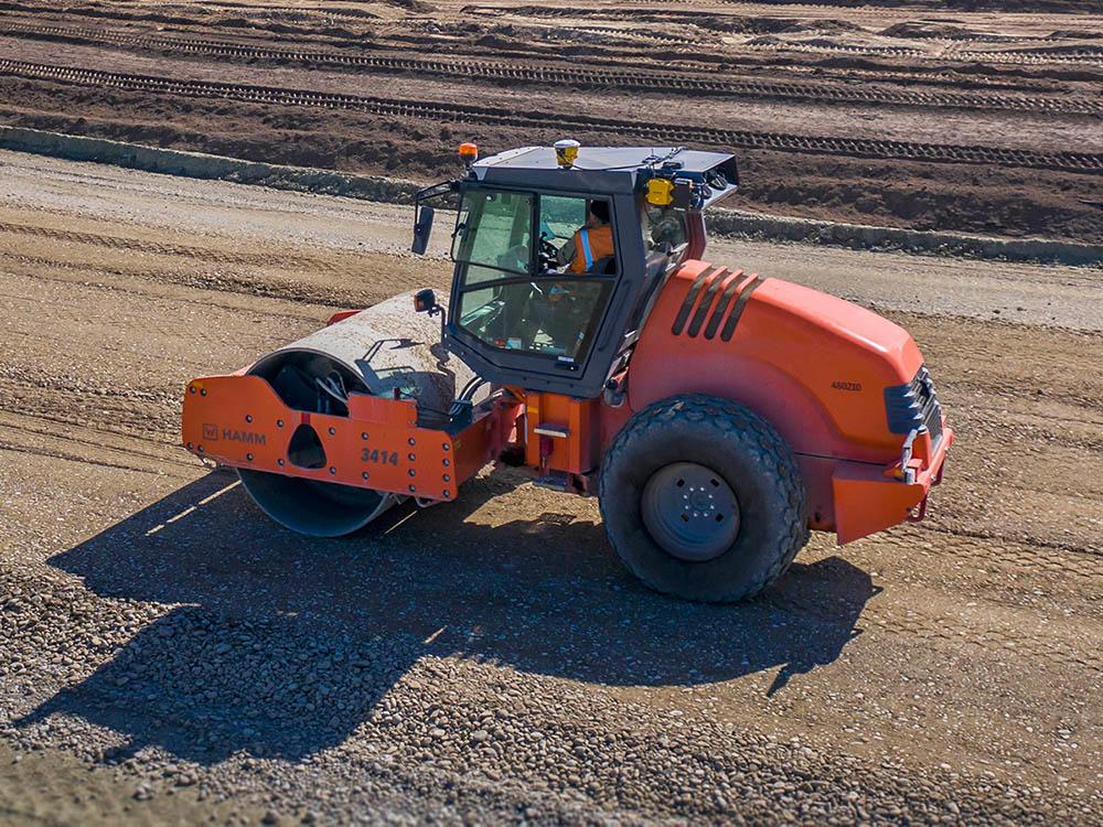 Trimble Earthworks for Soil Compactors